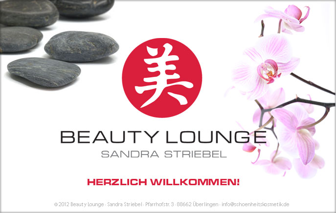 Beauty Lounge Sandra Striebel Startseite